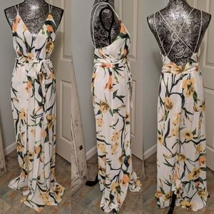 NWT Forever 21 floral jumper dress